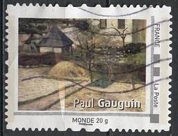 France - Frankreich Timbre Personnalisé 2008 Type ID19-05 (o) -  Monde 20g - œuvre De P Guauguin - France