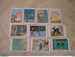 10 Cartes Personnages De TINTIN Série HERGE/MOULINSART - Comics