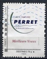 France - Frankreich Timbre Personnalisé 2009 Type ID42-01 (o) -  Destinéo 75g - L'avis Nature Perret - France