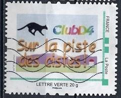 France - Frankreich Timbre Personnalisé 2010 Type ID67-02 (o) -   Lettre Verte 20g - Club D4 - France