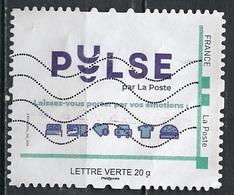 France - Frankreich Timbre Personnalisé 2010 Type ID67-10 (o) -   Lettre Verte 20g - PULSE - France