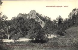 Cp Maiche Doubs, Route De Saint Hippolyte - Other Municipalities