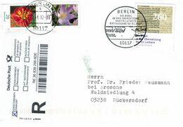 10117 Bibel - Berlin Übersetzung Martin Luther Tagetes Krokus R-Brief 2017 Einwurf - Christentum