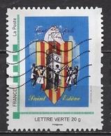 France - Frankreich Timbre Personnalisé 2010 Type ID73-03 (o) -   Lettre Verte 20g - Saint Estève - France