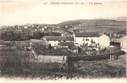 FR66 BOURG MADAME - Brun 1447 - Vue Générale - Au Fond PUIGCERDA - Belle - France