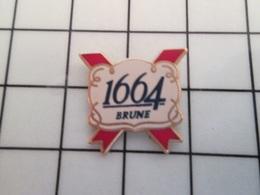 216A Pin's Pins / Beau Et Rare / THEME : BIERES / BIERE 1664 BRUNE - Bierpins