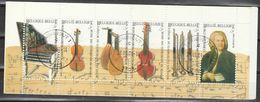 Postzegelboekje 35 Musique Oblit/gestp - Booklets 1953-....