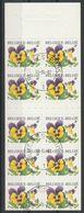 Postzegelboekje 36 Fleurs / Viooltjes Oblit/gestp - Booklets 1953-....