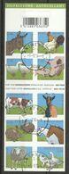 Postzegelboekje 60 Animaux De La Farme /Boerderij Dieren Oblit/gestp - Booklets 1953-....