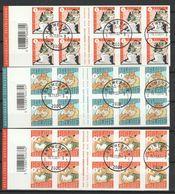 Postzegelboekjes 85,86,87  Timbres De Circonstance / Gelegenheids Uitgifte Oblit/gestp - Booklets 1953-....