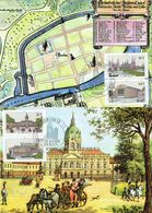 Germany / Berlin - Mi-Nr. 772/775 Maxicards (H629) - [5] Berlijn