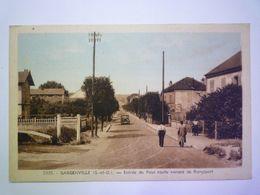 2020 - 6835  GARGENVILLE  (Yvelines)  :  Entrée Du Pays Route Venant De Rangiport  1946   XXX - Gargenville