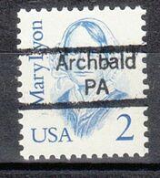 USA Precancel Vorausentwertung Preo, Locals Pennsylvania, Archbald 842 - United States
