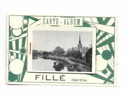72 - FILLE SUR SARTHE, Carte à Système, Petites Photos - Frankreich