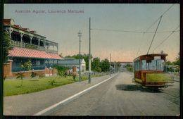 LOURENÇO MARQUES -  ELECTICOS -Avenida Aguiar.   Carte Postale - Mozambique
