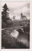 CPSM-25-Doubs- Environs De Pontarlier- ROCHEJEAN- Vieux Pont Et Eglise- - Pontarlier