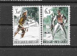 België  1964 Y&T 1296/97 (**) 50% - Unused Stamps