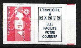 France Bandes N° 2807a  Repères De Couleur Rouge Neuf * * TB= MNH VF  Soldé  Le Moins Cher Du Site ! ! ! - 1989-96 Marianne Du Bicentenaire