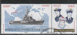 FRANCE 2009 PORTE HELICOPTERES JEANNE D ARC OBLITERE YT P4423 - Frankreich