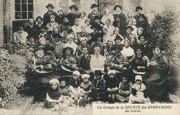 Société  Berrichons Du Loiret . Joueurs Vielle.  Berry. Orleans. President Arsène Mellot Vers 4 Passage Ruelle Paris 18 - Music