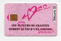 """Télécarte """" Graffiti"""" - Parfum"""