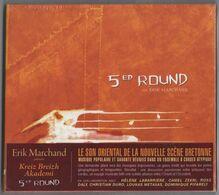 CD 12 TITRES ERIK MARCHAND KREIZ BREIZH AKADEMI 5ed ROUND NEUF & RARE - Musique & Instruments