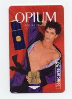 "Télécarte "" Opium"" - Parfum"