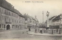 67 MOLSHEIM - Place De L'Hôtel De Ville - Molsheim