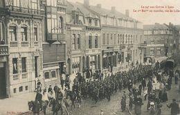 Grèves De Lens Nord . Rue De Lille. 94 Eme Infanterie. Charbon. Coal Strike . - Huelga