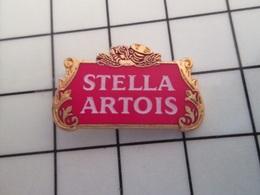 216A Pin's Pins / Beau Et Rare / THEME : BIERE / LOGO BIERE STELLA ARTOIS - Beer