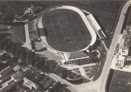STADIO-STADE-STADIUM-ESTADIO-STADION-CAMPO SPORTIVO-PORTOGRUARO-ITALY-CARTOLINA VIAGGIATA IL 28-3-1954 - Calcio