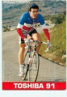 Philippe LOUVIOT . 2 Scans. Cyclisme. Toshiba 1991 - Cycling