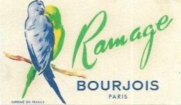 CARTES  PARFUMEES  RAMAGE DE BOURJOIS PARIS - Cartes Parfumées