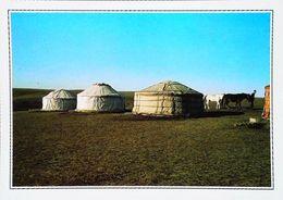 Mongolie   Yourtes Dans La Steppe    Années 80s - Mongolei