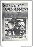 12707 - Affiche Du Cinéma Albanais Gjeneral Gramafoni / Le Général Gramophone 1977 - Manifesti Su Carta