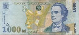 Roumanie Romania : 1000 Lei 1998 Moyen état - Roemenië