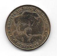 Médaille Touristique,Monnaie De Paris 2007, Animaux, GROTTE DE FONT DE GAUME, DORDOGNE  ( 24 ) - Monnaie De Paris