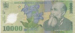 Roumanie Romania : 10000 Lei 2000 En Plastique état Courant - Roemenië
