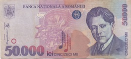 Roumanie Romania : 50000 Lei 1996 Moyen état - Roemenië