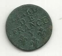 Monnaie , France , Liard De France , 2 Scans - Coins & Banknotes