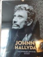 GRAND CALENDRIER 2020     JOHNNY HALLYDAY - Kalender