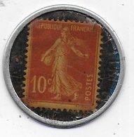 Timbre Monnaie 10 C  Société Générale - Monétaires / De Nécessité