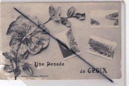 Une Pensée De Groix (56) Multivues Et Fleur - Groix