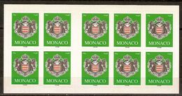 (Fb).Monaco.2005.Carnet Nuovo Di 10 Francobolli.Non Comune (92-20) - Markenheftchen