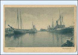 XX10582-239./ Wismar Hafenpartie 1928 AK - Deutschland