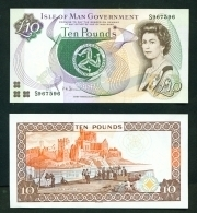 ISLE OF MAN  -  2007  £10  Signature  Shimmin  UNC Banknote - Isle Of Man / Channel Island