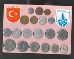 Turkey Turchia Dinde Turkiye Souvenir Coin Set - Turkey