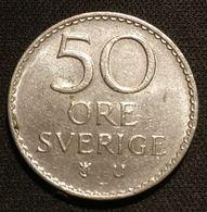 SUEDE - SWEDEN - 50 ORE 1973 - KM 837 - Gustaf VI Adolf - Korea, South