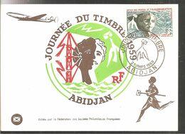 1959 Journée Du Timbre - Costa D'Avorio (1960-...)
