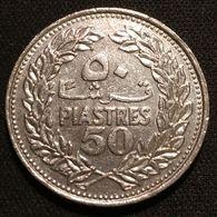 LIBAN - LEBANON - 50 PIASTRES 1978 - KM 28 - Libano